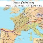 Jakobsweg von Wien nach Santiago